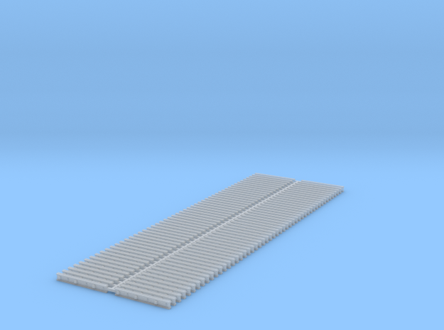 Code 138 Joint Bars - 100 in Smooth Fine Detail Plastic