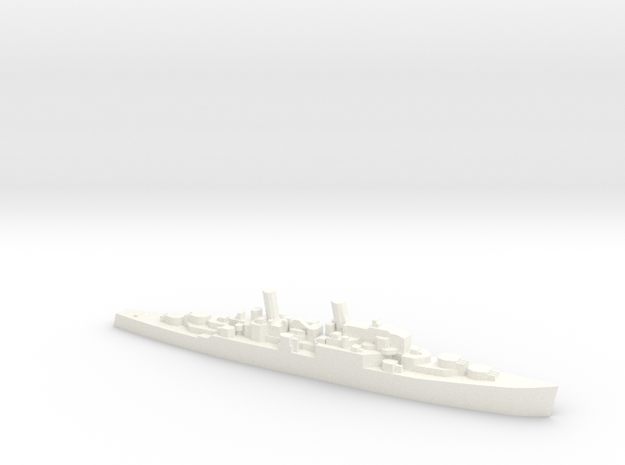 1/2400 British Neptune Cruiser Never Were in White Strong & Flexible Polished
