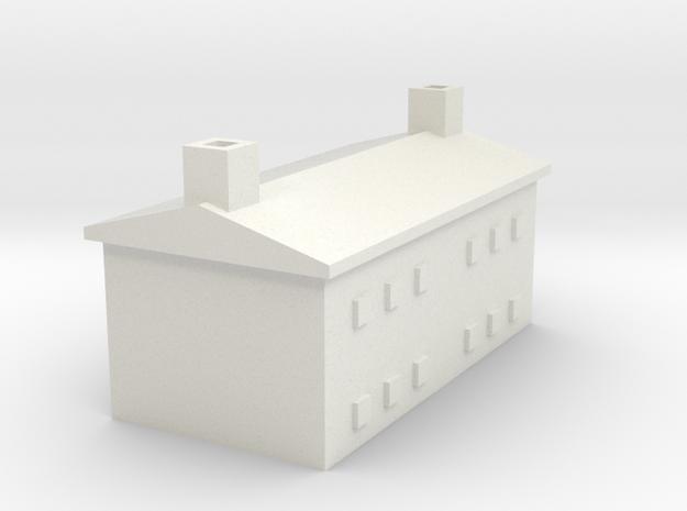 1/700 Farm House 1 in White Natural Versatile Plastic
