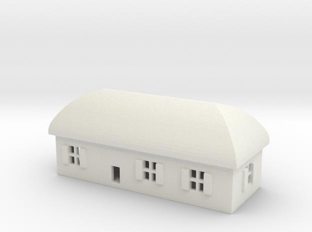 1/700 Villiage House 1 in White Natural Versatile Plastic