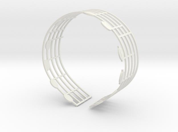 Music Bracelet - Ode to Joy 3d printed