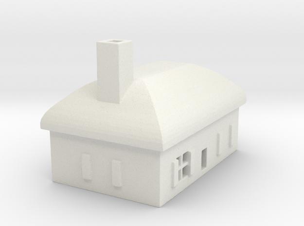 1/700 Villiage House 6 in White Natural Versatile Plastic