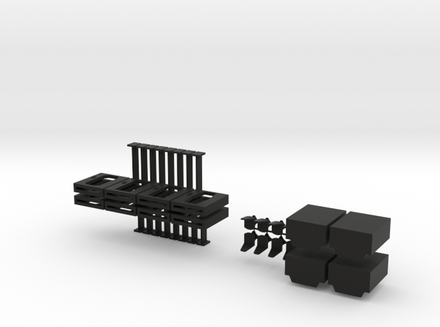 15mm Doors, Chairs, and Lifts 3d printed