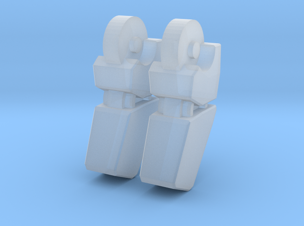 MP-10 Finger V2 1 PAIR 3d printed