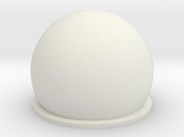 1/700 AN/FPS-92 Tracking Radar in White Natural Versatile Plastic