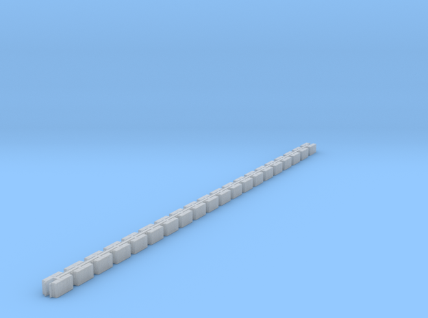 bumper pair rev4 array 40 in Smooth Fine Detail Plastic