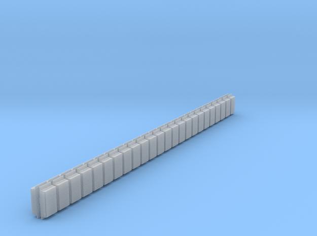 bump1 rev3 array 46 O scale 3d printed