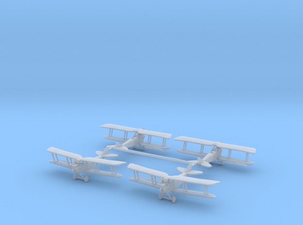 1/350th Rumpler C.IV LATE VERSION 3d printed