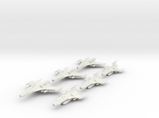 EDSF bombers in White Natural Versatile Plastic