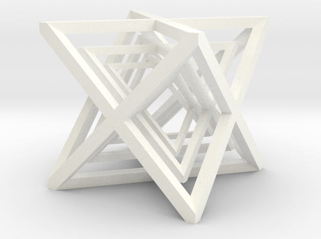xCubes Nested (3 Inside Each Other) 3d printed