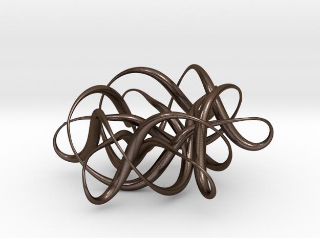 Knot3_Pendant Star 3d printed