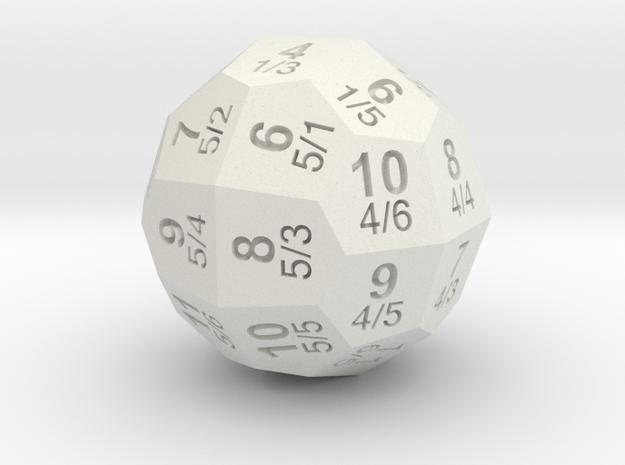D36 Individual Numbers Total 3d printed