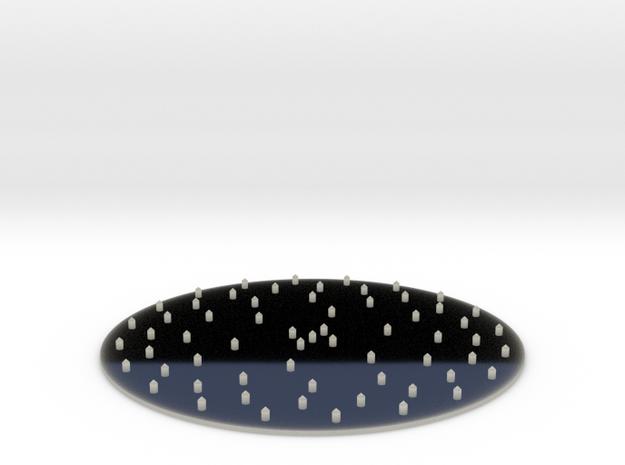 Hookah Shisha Foil puncture tool in Transparent Acrylic