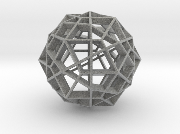 Polyhedral Sculpture #23 3d printed