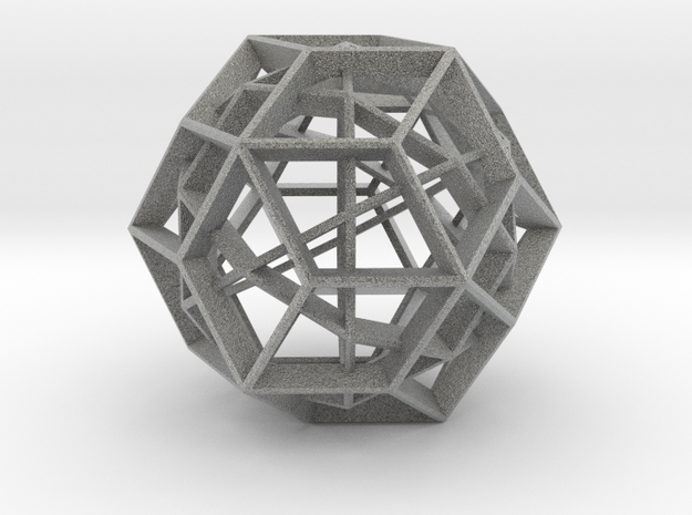 Polyhedral Sculpture #23A 3d printed