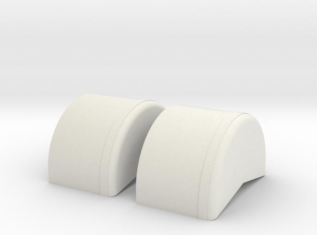1/43rd 40 inch wheel tubs 3d printed