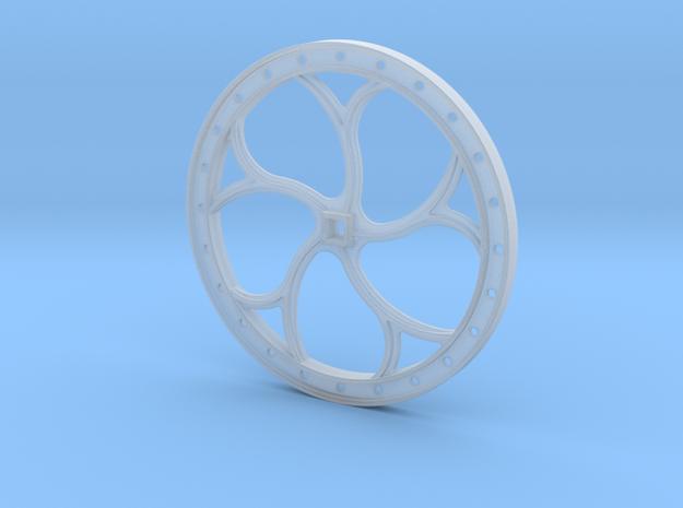 Brake Wheel F-Scale 1:20.3  in Frosted Ultra Detail