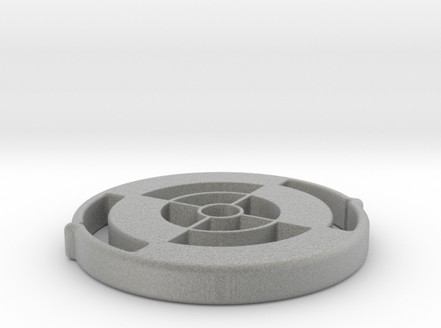 40mm-scope-protector-5mm-thick in Metallic Plastic