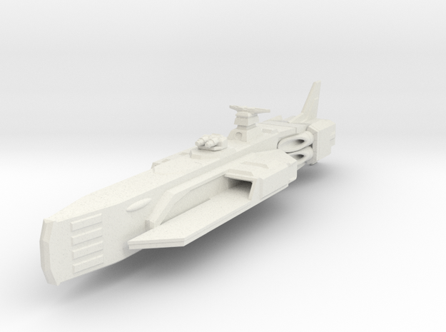 Shadow Rift Mechanzed Empire Carrier Type 1 in White Natural Versatile Plastic