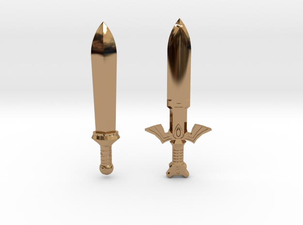 Sword Pack III 3d printed