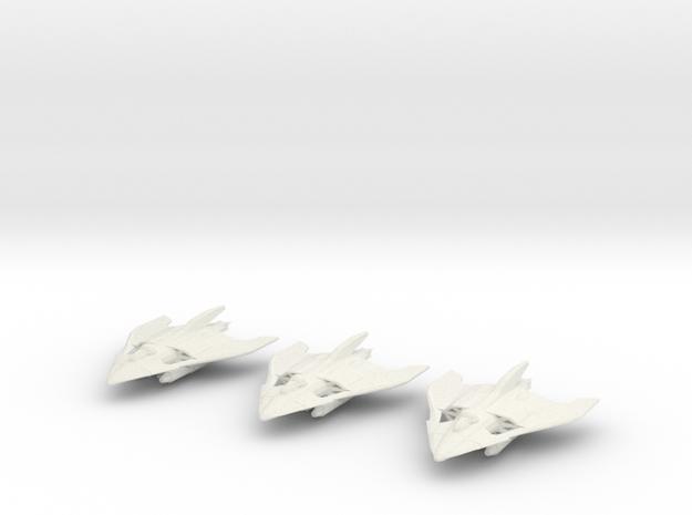 Gorgol Torpedo Bomber Wing in White Natural Versatile Plastic