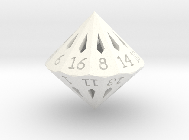 22 Sided Die - Large 3d printed