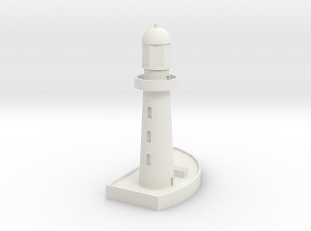 1/700 Lighthouse in White Natural Versatile Plastic