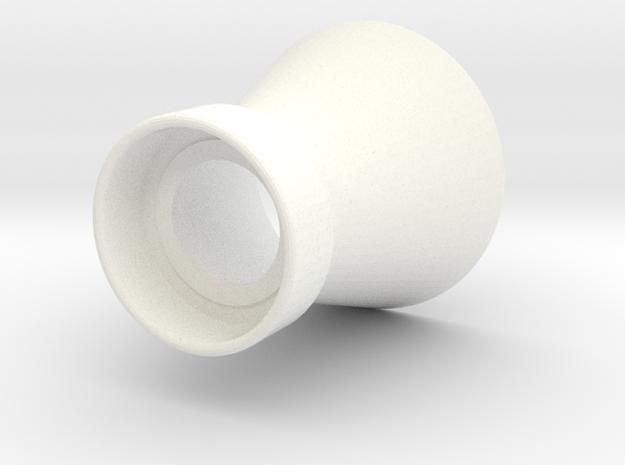 MAXBOTICS SENSOR CONE in White Processed Versatile Plastic