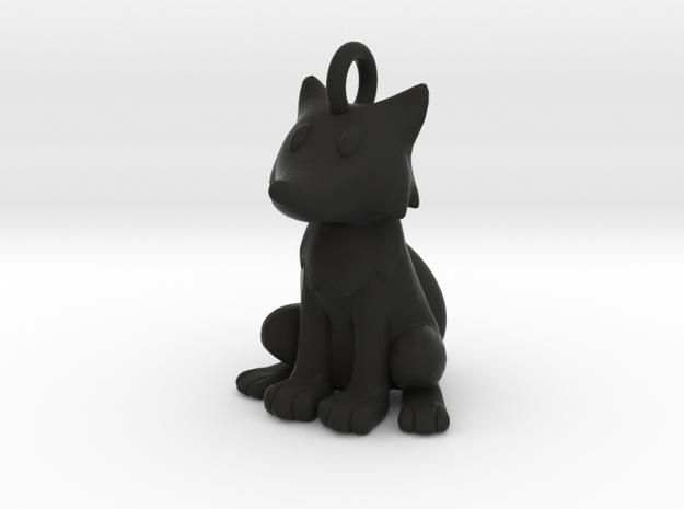 Fox Keychain 3d printed