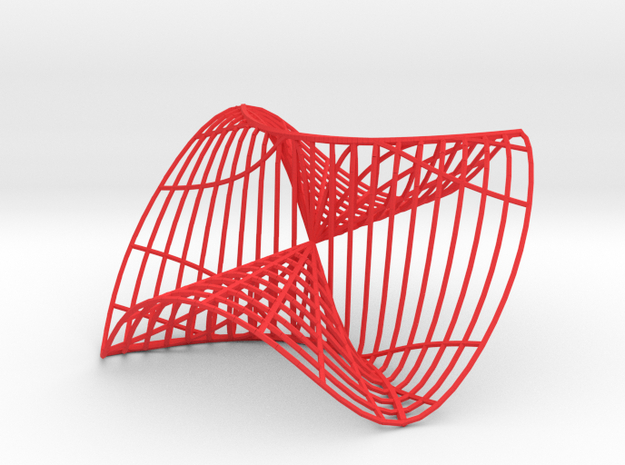 Noncontinuous Function of two variables 3d printed