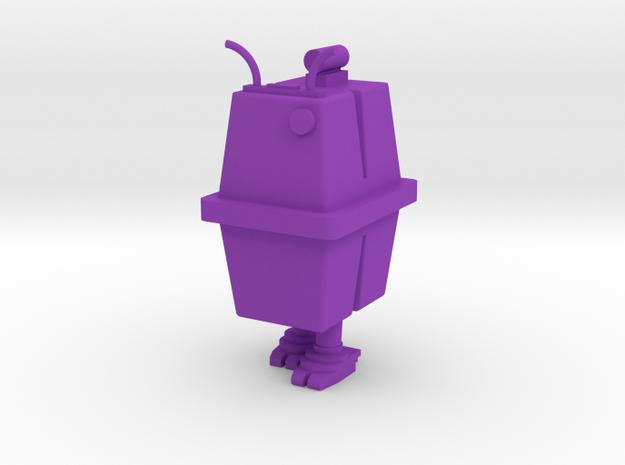 1/48 O Scale Box Robot 2 in Purple Processed Versatile Plastic