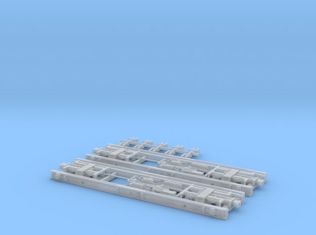 eubau Rollwagen RF4 mit Druckluftbremse in TTm (1 3d printed