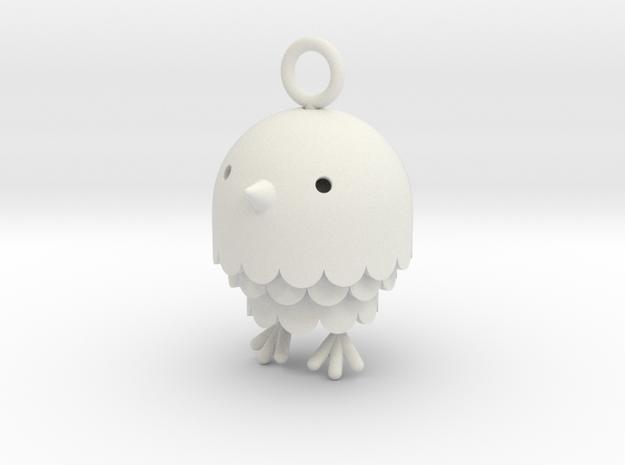 """Peep"" Bird Pendant"