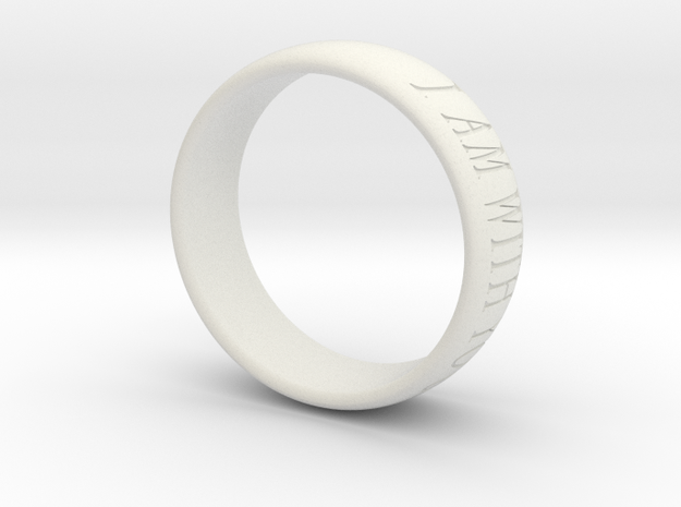 Fear Not, I am With You - Ring 3d printed