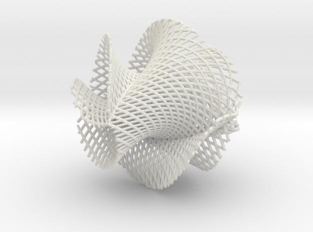5x3 ribbon on hypersphere 3d printed