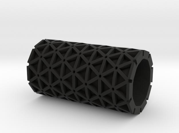 3mm isogrid cylinder 3d printed