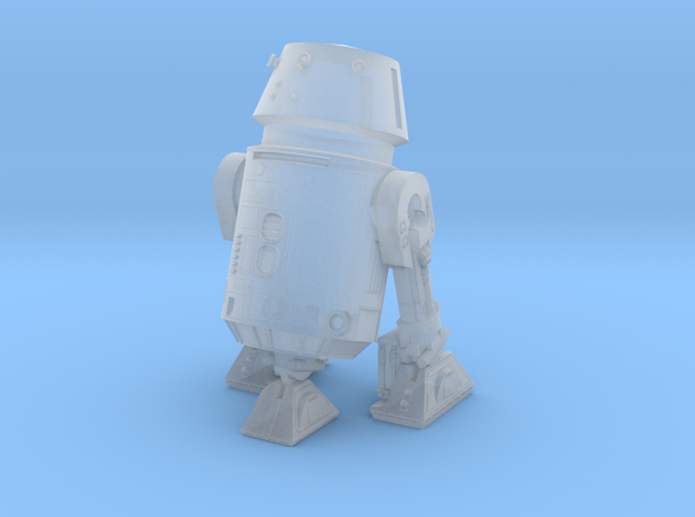 1/48 O Scale Robot-5 3-leg in Smooth Fine Detail Plastic