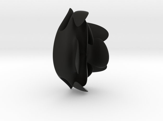 CrowdedHead_decorativeClips 3d printed
