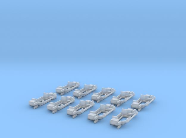 5800-ZS-87-Ladeboardwand FÜR SPRINTER/ATEGO in Smooth Fine Detail Plastic