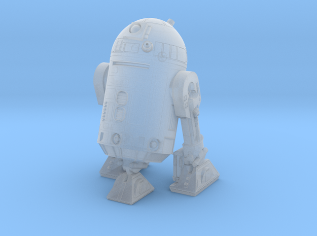 1/48 O Scale Robot 2 Three Legs in Smooth Fine Detail Plastic