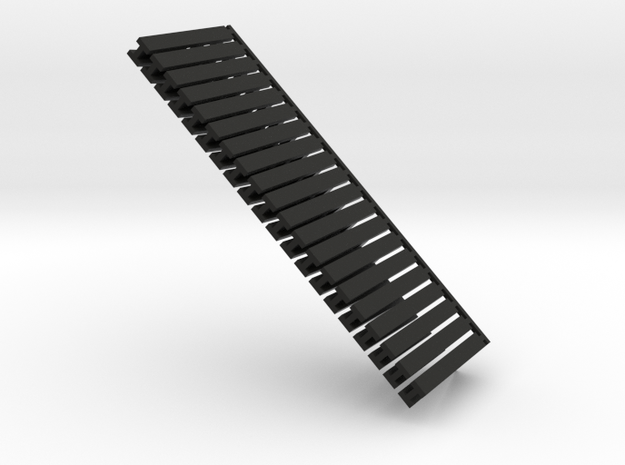 15mm Stanchions (Angled) 3d printed