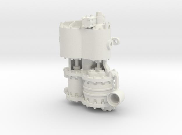 Westinghouse CC 1.6 Intake in White Natural Versatile Plastic