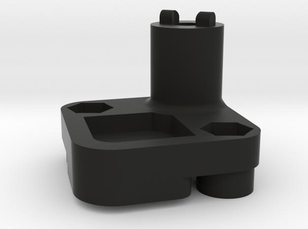 Spare tire mount for Pajero hardbody. in Black Natural Versatile Plastic