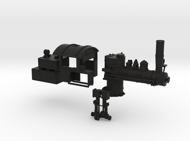 HO Scale Mich Cal Parts 3d printed