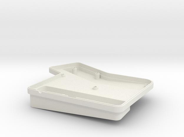 ErgoDox Bottom Left Case (double slope) 3d printed