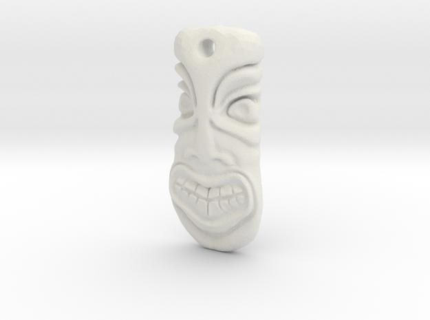 TikiPendant8 3d printed