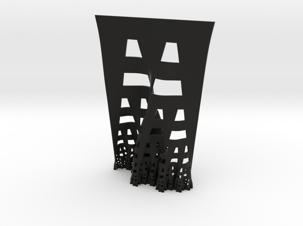 Developing terdragon curve (Large) 3d printed