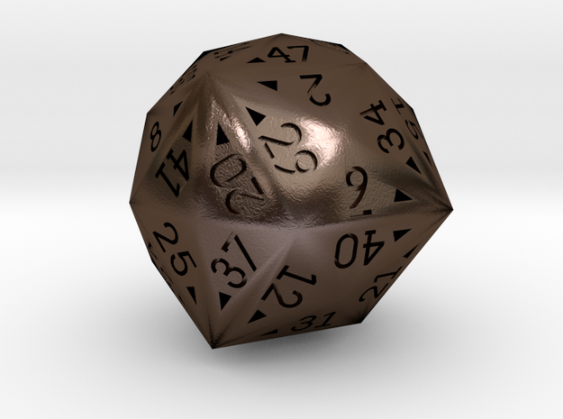 48 Sided Die - Regular 3d printed
