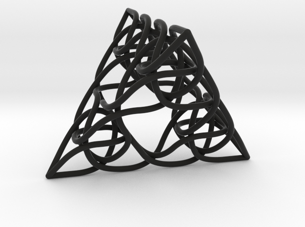 Pascal's Pyramid 2in 3d printed