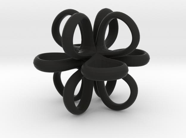 1 Inch Loop Cube Smooth 3d printed